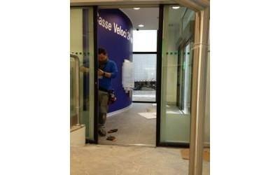 Installazione porta di sicurezza