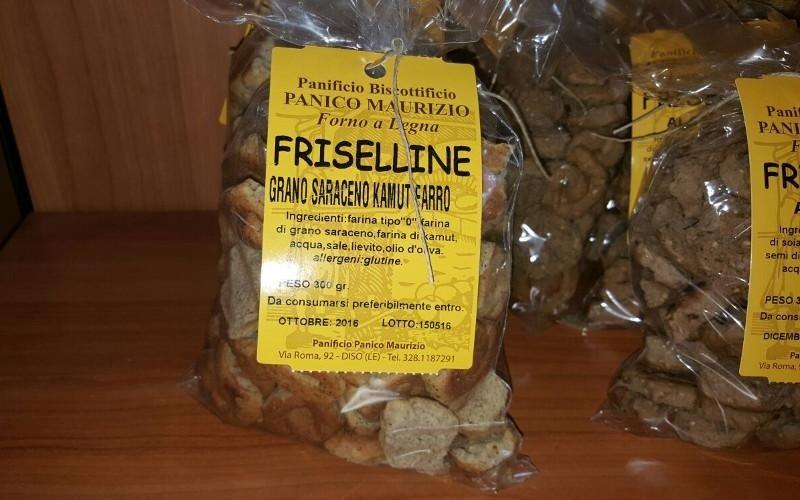 Friselline grano saraceno, kamut e farro
