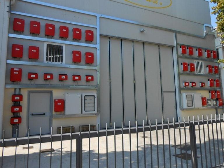 contatori e quadri elettrici a muro