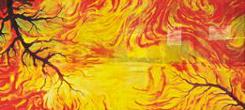 vetrate pitturate a fuoco