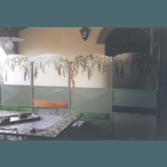 vetrate pitturate a freddo, vetrate a piombo, vetrate artistiche, vetro anticato