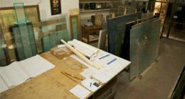 vetrate artistiche, restauri d'epoca, vetrate su misura