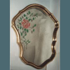 vetri dipinti, specchi dipinti, restauro vetrate artistiche, vetrate artistiche, vetrofusione