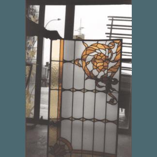 rilegatura in piombo, vetrate artistiche, vetromosaico, restauri d