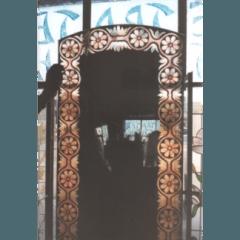 specchi dipinti, vetri dipinti, vetrate artistiche, vetro decorato,vetromosaico