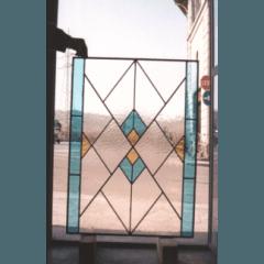 vetro sabbiato,  vetrate pitturate a fuoco, vetrate tiffany, vetri dipinti, vetri per sportelli