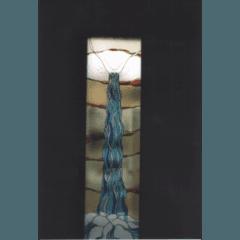 rilegatura in piombo, vetri dipinti, vetrofusione, vetro decorato