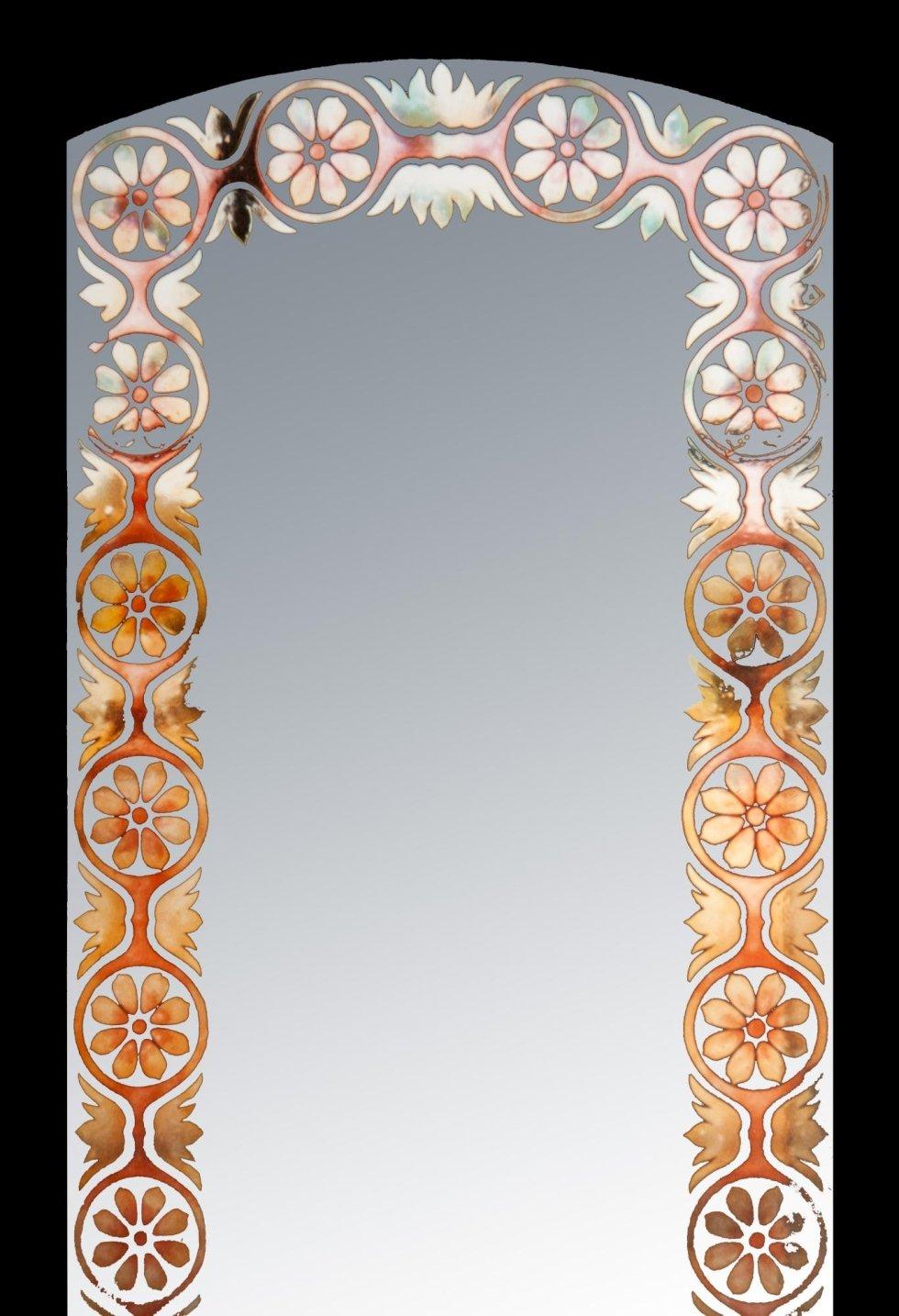 Vetro lavorato a specchio