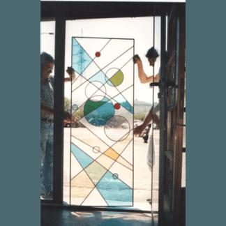 vetrate rilegata in rame, vetrate rilegate in piombo, tiffany, pelago, pontassieve