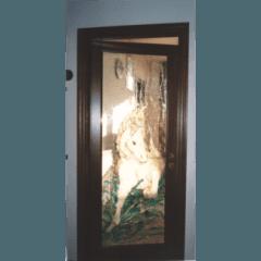 vetrate artistiche, vetrate pitturate a freddo, vetrate rilegate in piombo, riparazioni su vetrate antiche