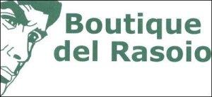 logo boutique del rasoio bari
