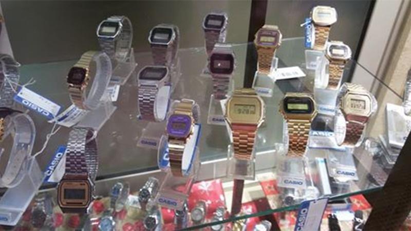 orologi vintage casio