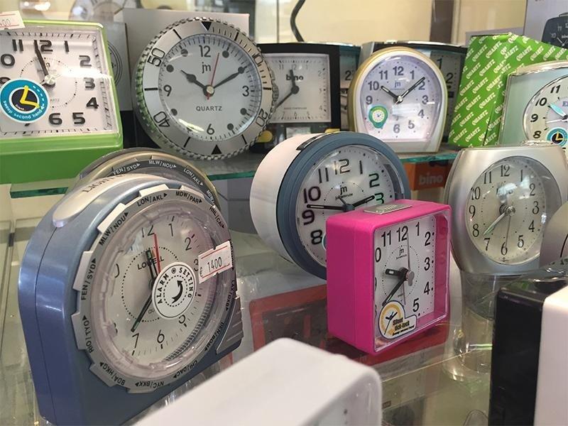 sveglie e orologi da parete