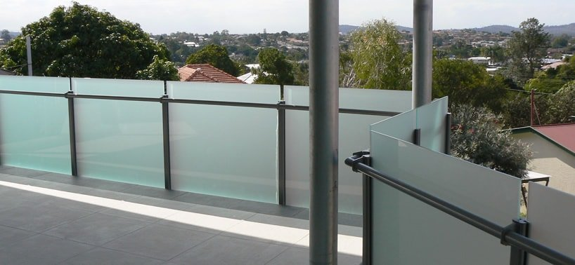 Stainless steel aluminium balustrading balcony