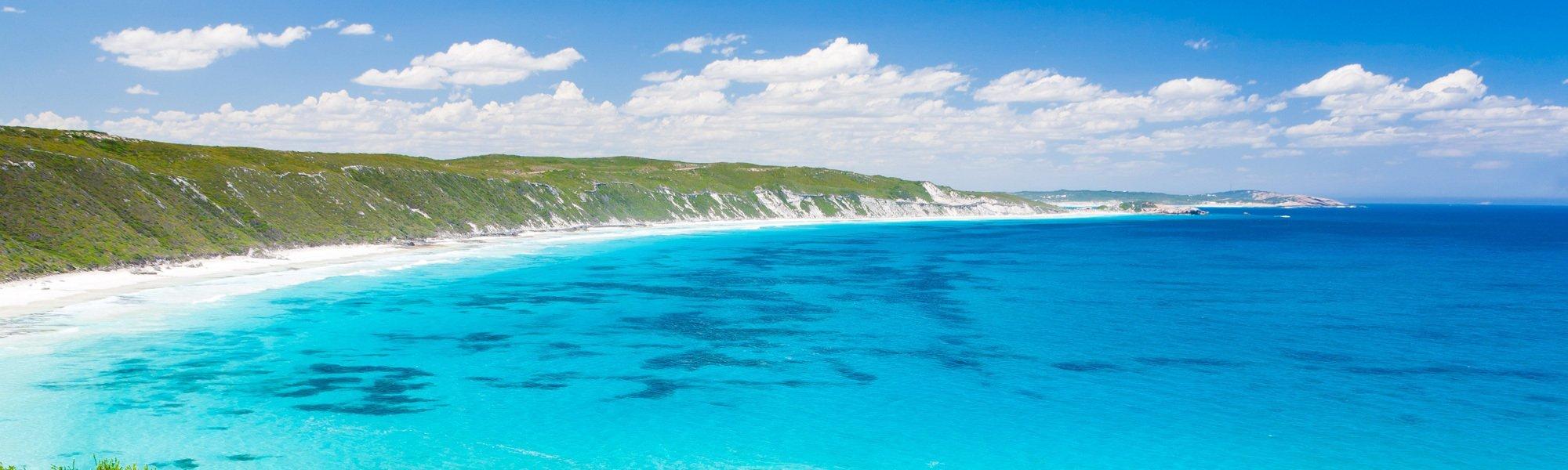 Beautiful coastal area for holiday