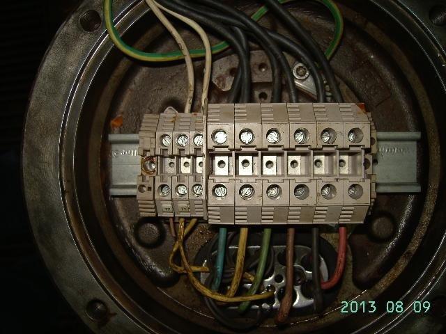 centralina elettrica di un'elettropompa