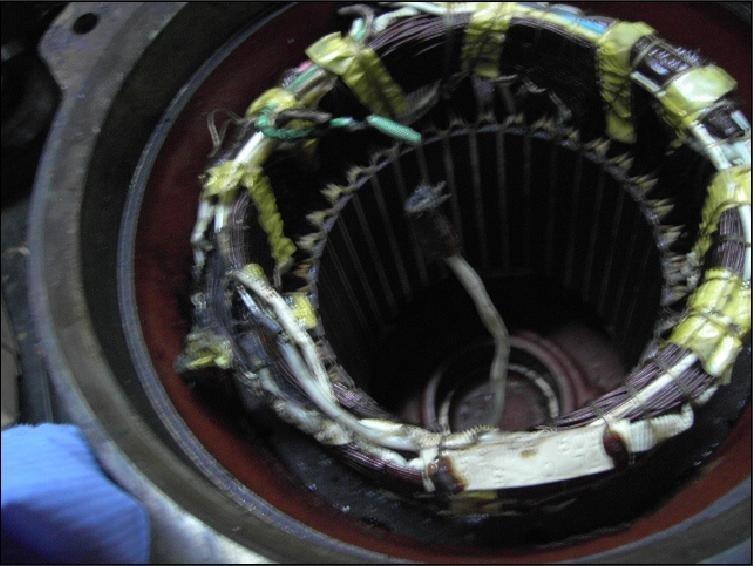 circuiti di un'elettropompa