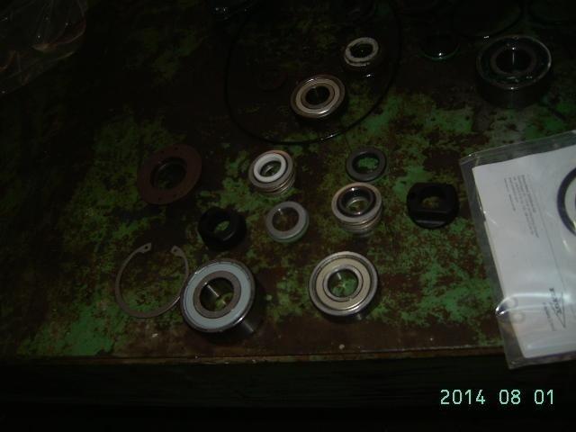 giunzioni pulite di un'elettropompa