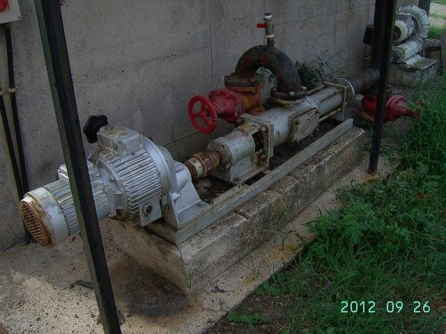 motore di un impianto di depurazione