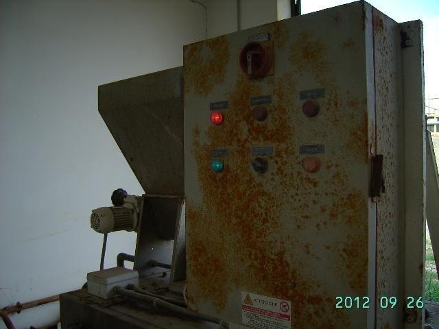 pannello di controllo di un impianto di depurazione