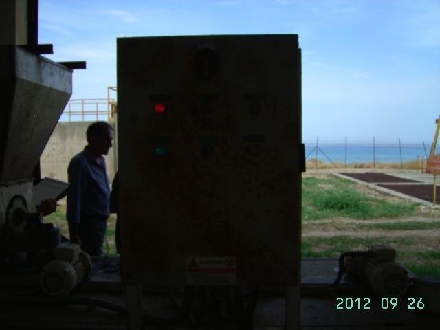 manutenzione pannello di controllo di un depuratore