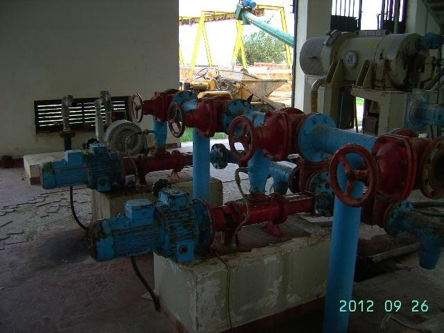 tubature in un impianto agricolo