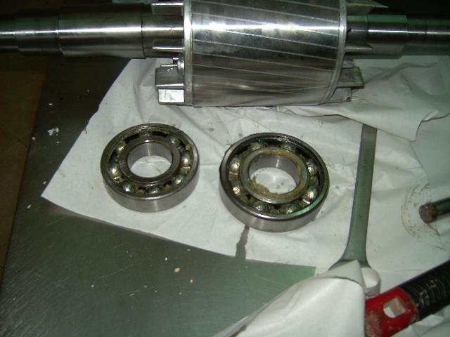 giunture metalliche di un forno elettrico