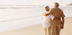 beach couple how to plan a celebration of life