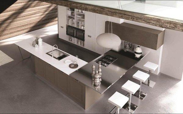 Cucine moderne con penisola - Emi arredamenti - Savona.jpg
