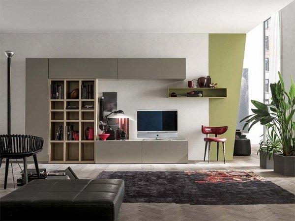 arredamento soggiorno moderno design