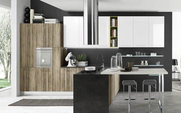 Cucine moderne con penisola- Emi arredamenti - Savona