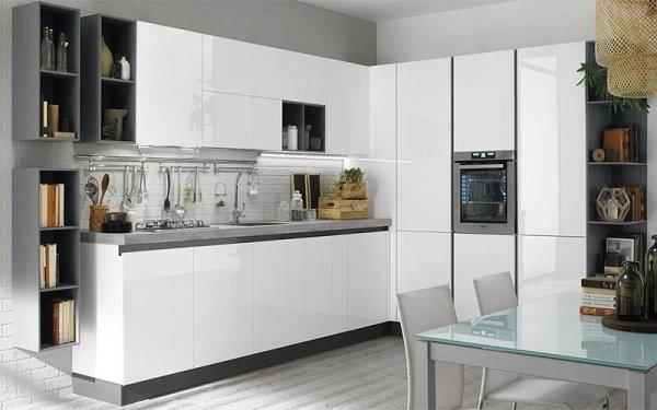 Cucina bianca - Emi arredamenti - Savona