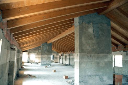 costruzione tetti di legno