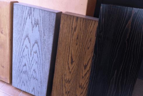verniciatura assi legno