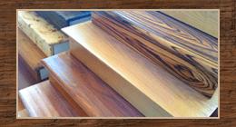 trattamento scale legno