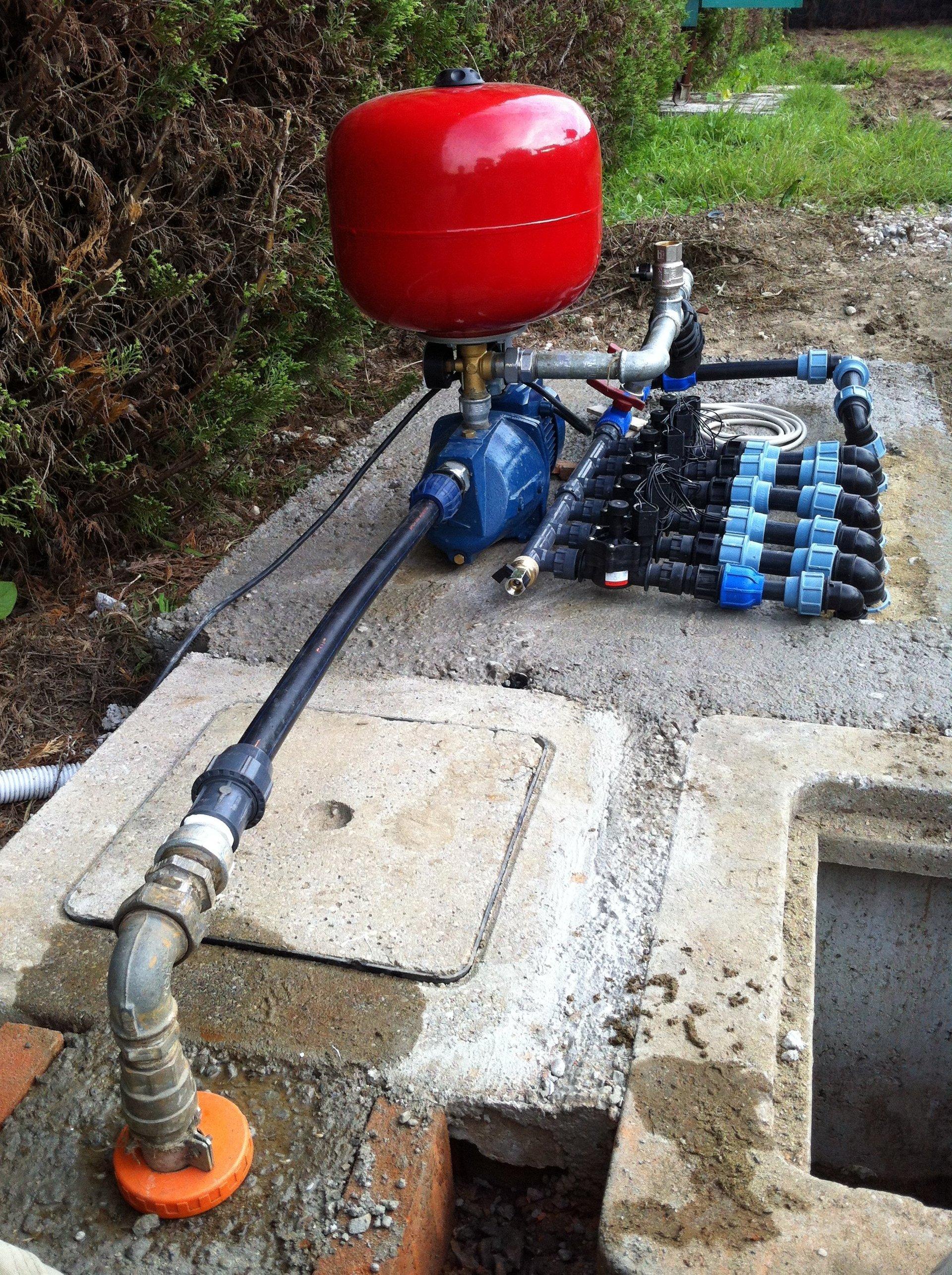 apparecchio irrigazione