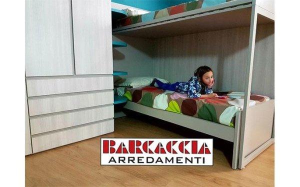 Camerette zona notte roma barcaccia arredamenti for Tricca arredamenti roma