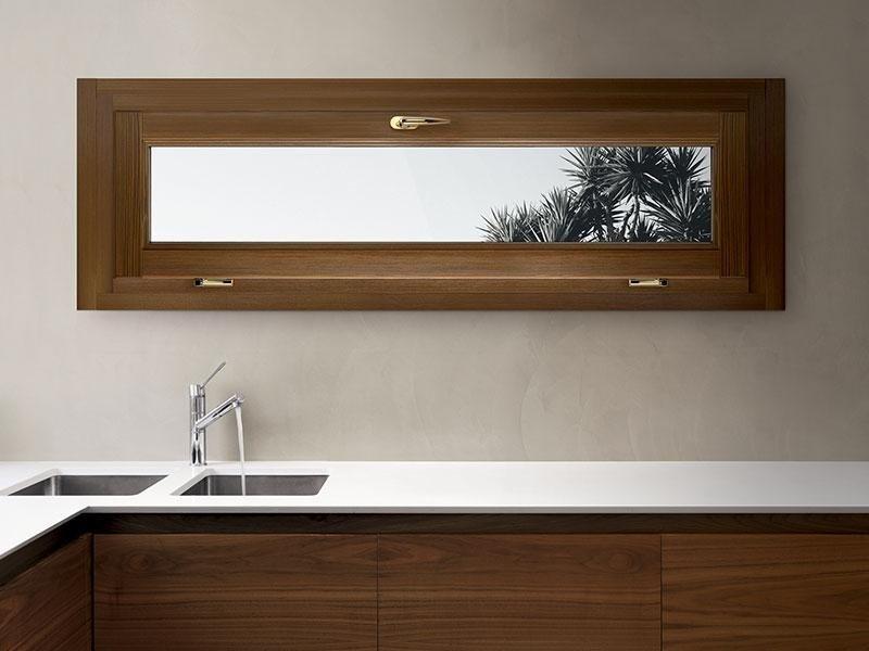 Finestre legno e alluminio