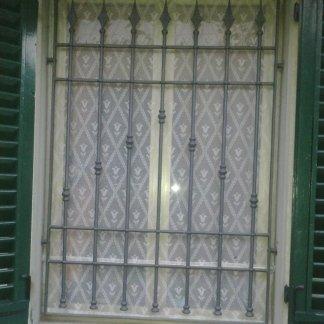 Inferriata fissa per finestra
