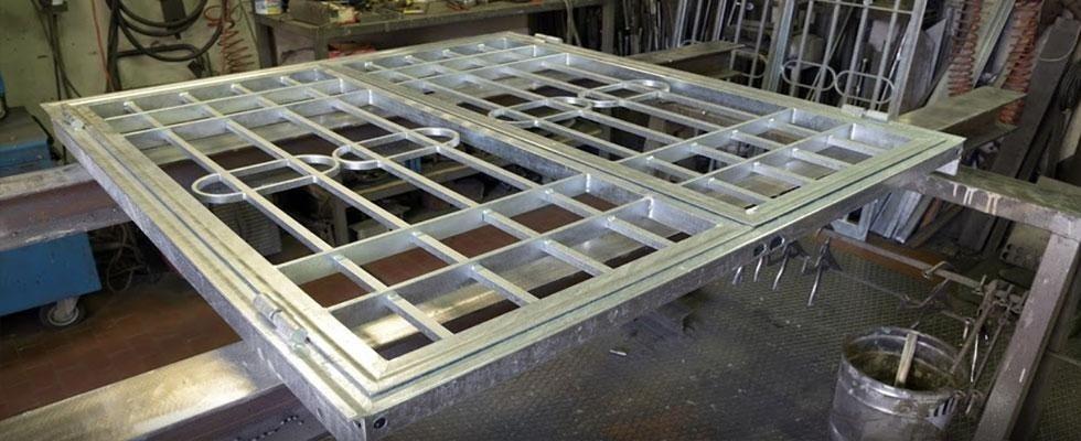 CG Infissi in alluminio - grata in alluminio