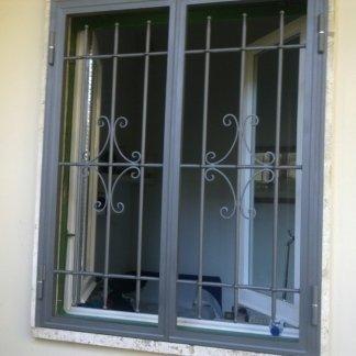 Inferriate con serratura di sicurezza
