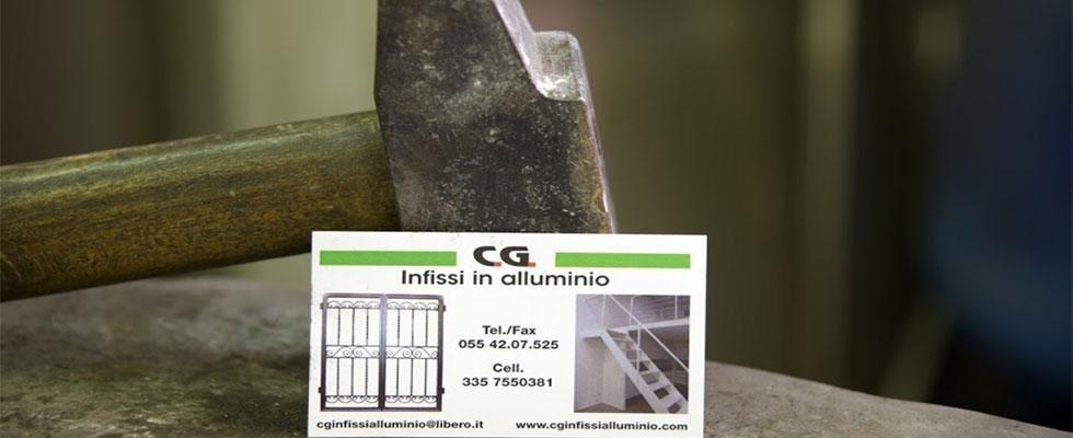 CG Infissi in alluminio - lavorazione alluminio