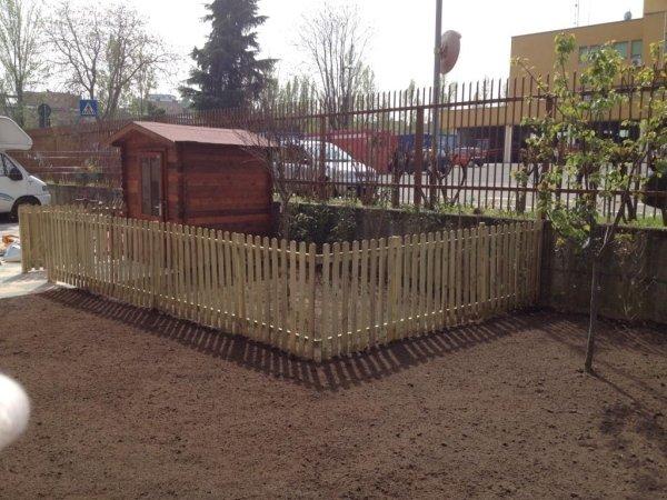 steccato recinzione