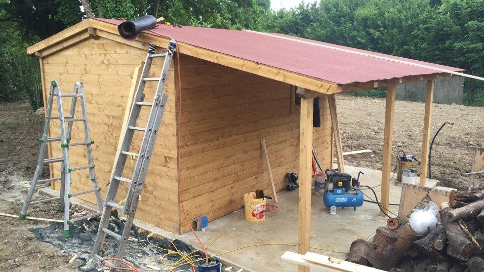 realizzazione gazebo in legno