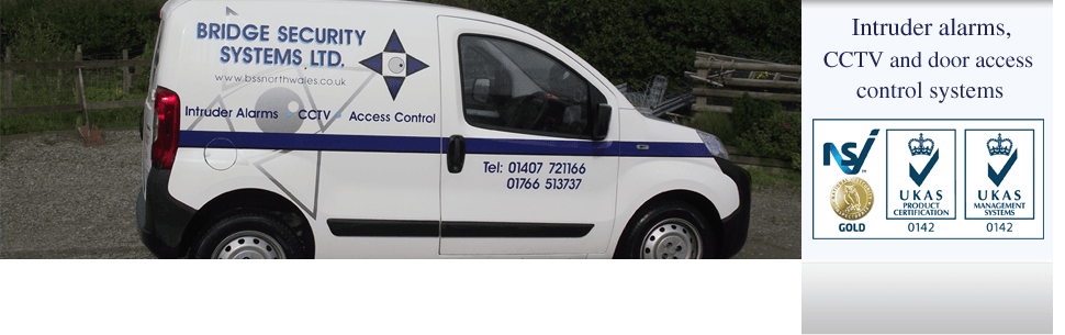 Security systems - Porthmadog, Gwynedd - Bridge Security Systems Ltd - CCTV Camera