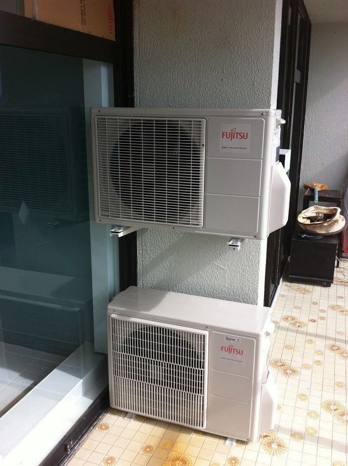 clean_and_well_maintained_Fujitsu_Air_conditioning_beside_the_window