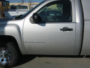 truck with repaired door