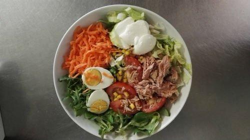 un'insalata mista