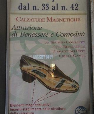 Calzature magnetiche