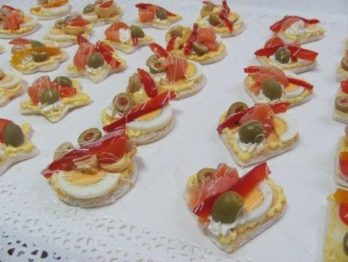 salatini a forma di cuore